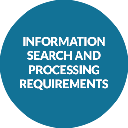 information-search-and- Processing-requirements
